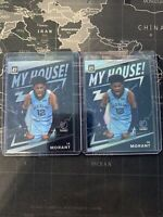 JA MORANT 2019-20 Panini Donruss Optic My House RC ROOKIE #7 Silver Holo & Base