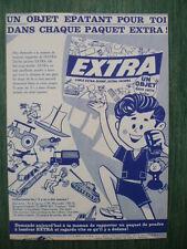 rare feuillet - Supplément au Journal de TINTIN n° 11  du  16 mars 1960