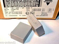0.22uF 440VAC VISHAY Capacitor Film Suppression X1 BFC233810224 [QTY=2pcs]