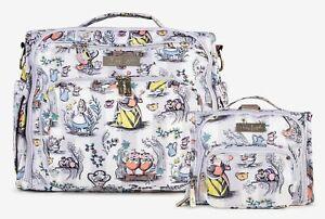 Ju Ju Be Disney BFF & Mini BFF Baby Diaper Bag Backpack It's a Mad Mad World NEW