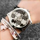 TOP ONE Luxury Women's Fashion 40mm Stainless Steel T6848 Bear Wrist Watch