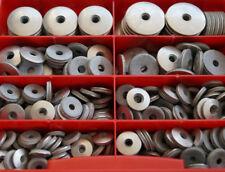 surtido 400 PIEZAS ACERO INOXIDABLE EPDM Anillo de obturación 16mm Caja para M5