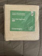NEW LINENSPA Non-Slip Area Rug Pad  8' x 10' Excellent Grip