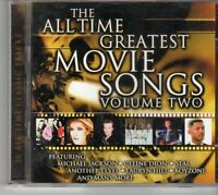 (EU653) The All Time Greatest Movie Songs, Vol. 2, 36 tracks - 2CDS - 1999 CD