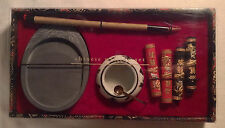 Pier One 1 Chinese Calligraphy Gift Set w/ Ink Sticks & Brush - Painting Art
