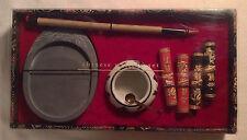 Pier One 1 Chinese Calligraphy Gift Set w/ Ink Sticks & Brush - Painting Art