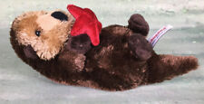 "California Sea Otter Starfish by Aurora 8"" CLEAN Soft Bean Bag Plush Stuffed"