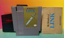 Adventure of Link  + Manual Dust Cover Nintendo NES Game Rare Tested Works Great