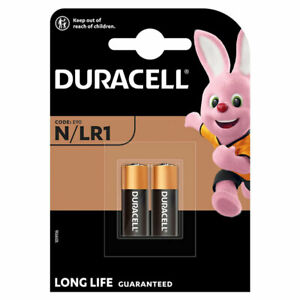 2 x Duracell Alkaline N LR1 1.5V batteries MN9100 E90 AM5 2 in Pack