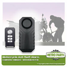 Wire-free Motorbike Alarm For Tomos. Easy Install Anti-Theft Protect