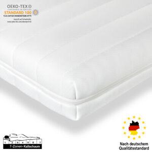 9cm Visco Topper Matratzenauflage 90x200 120x200 140x200 180x200 7 Zonen