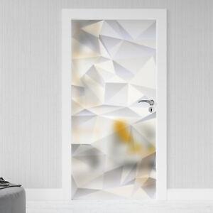 Glastür Aufkleber Sichtschutz Folie Milchglasfolie Glasdekor selbstklebend 066