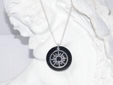 Markenlose Halsketten und Anhänger mit Onyx Echtschmuck