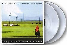 C.S.I. Tabula Rasa Elettrificata Doppio Vinile Lp Colorato (180 Gr. Clear Vinyl)