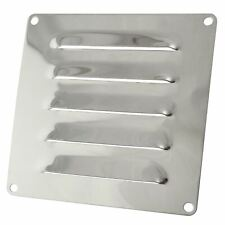 Louvre vent 128mm x 66mm stainless steel 1.2in2 free air   4185