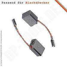 Spazzole Carbone Carbone Motore Per BLACK & DECKER KG 85 tipo B, C, D 6,3x10mm 100386