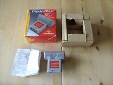 Temblor Pak/vibración de rendimiento Pack-Nintendo 64/N64-Probado-en Caja