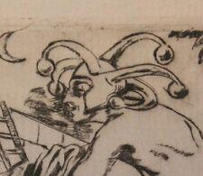 1925 Suite 5 eaux-fortes érotiques Allemagne Ernst GERHARD Historische Nächte