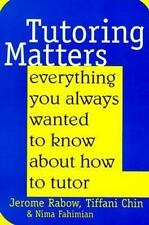 Tutoring Matters Pb-ExLibrary