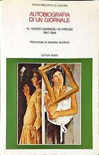"""AUTOBIOGRAFIA DI UN GIORNALE. """"IL NUOVO CORRIERE"""" DI FIRENZE 1947-1956"""