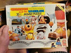chorlton and the wheelies 30 piece jigsaw very rare thames tv series 1977
