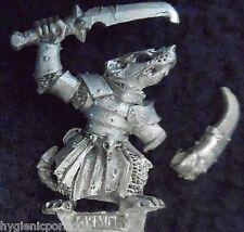 2001 Skaven stormvermin Comando Campeón caos ratmen Citadel Warhammer ejército Gw