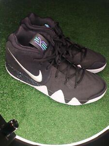 Size 13 - Nike Kyrie 4 Black White 2017