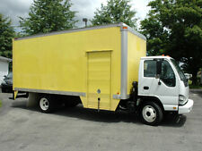 2006 ISUZU NQR CAB OVER 18 FT BOX TRUCK, DIESEL, SIDE DOOR, THERMO KING REEFER