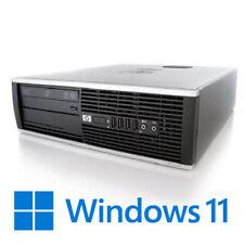 WINDOWS 11 PC FISSO DESKTOP HP COMPUTER 6200 i3 RICONDIZIONATO ECONOMICO INTEL