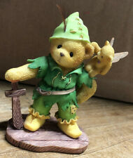 """Used 1997 Cherished Teddies Brett """"Come To Neverland With Me"""" 302457."""