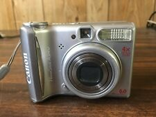 Canon PowerShot A540 6.0MP Digital Camera - Silver