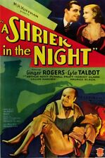 A Shriek in the Night 1933 Ginger Rogers  Comedy Mystery DVD
