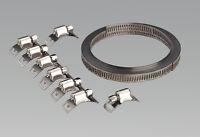 Sealey Jc97 Collier de Serrage Set Autoconstruction 8mm Largeur de Bande