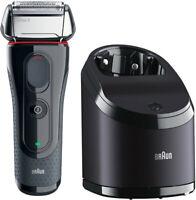 Braun Series 5 5050cc Elektrischer Rasierer + Reinigungsstation Trockenrasierer