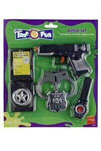 Child Police Set Boys and Girls Cop Police Fancy Dress Party Accessories