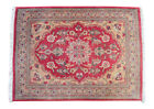 """1'8"""" x 2'4"""" Distressed Small Rug Hand Knotted Turkish Muted Yastik Rug 52x70 cm"""