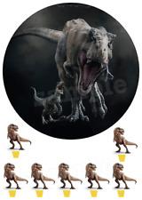 Eßbar Jurassic World Dinosaurier Tortenaufleger NEU Party Deko Tortendeko backen