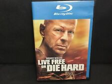Live Free Or Die Hard (Blue Ray,2007) Bruce Willis