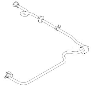 GENUINE Ford Focus / C-Max 2.0 Brake Booster Vacuum Tube / Pipe
