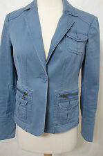 MARC JACOBS Blue Signature Button Cotton Jacket NWOT 6