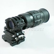Airsoft 1.5-5X Monocular Magnifier Scope w Flip to Side QD Mount 20mm ai110