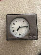 Leica Leitz Table Clock Rare Collectible
