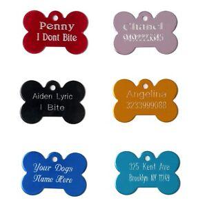 Pet ID Dog Tag Custom Engraving
