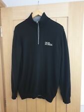 Oscar Jacobson 1/4 Zip Golf Sweater Mens Size Medium