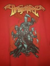 DragonForce XXL Shirt Powermetal Videogame Metal PowerGlove