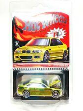 Hot Wheels 2020 BMW M3 Phoenix Yellow RLC Exclusive Car #00014/20000 Rare New
