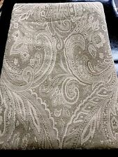 """Sferra Bros Light Sage Jacquard Blanket Cover Tablecloth 90""""x 90"""".  ITALY Made"""