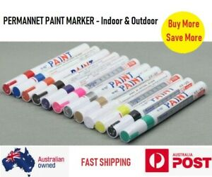 PREMIUM QUALITY PERMANENT PAINT MARKER OUTDOOR QUICK DRY FREE POSTAGE