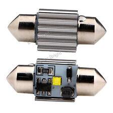10Pcs White 31MM 7W CREE ERROR FREE C5W LED Interior Canbus Festoon Signal light
