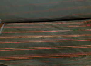 JB MARTIN  MOHAIR  Stripe Fabric  Brown WOOL VELVET FABRIC SOLD BY YARD